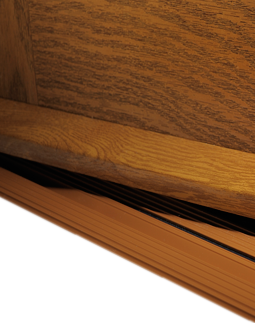 Upvc Drip Weather Bar White Rosewood Brown And Light Oak