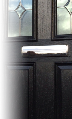 Heavy Duty Door Letterbox To Suit Composite Timber And