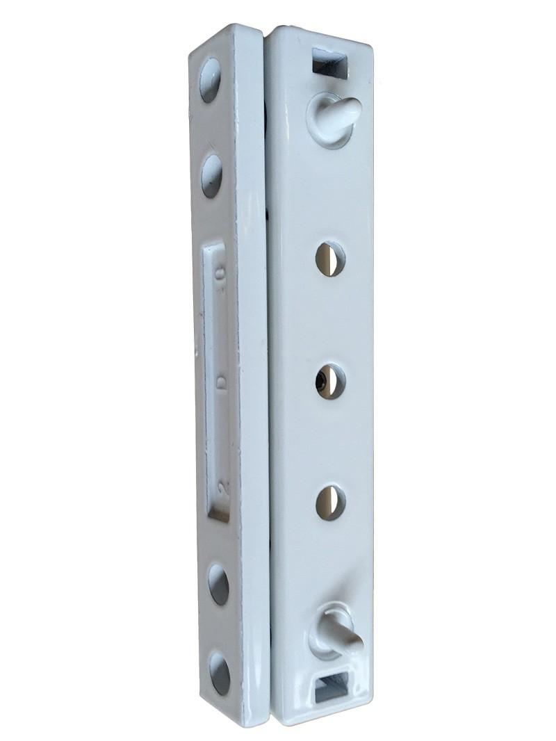 Paddock Wel Mila Butt Upvc Door Hinge White Flat Plate Ebay