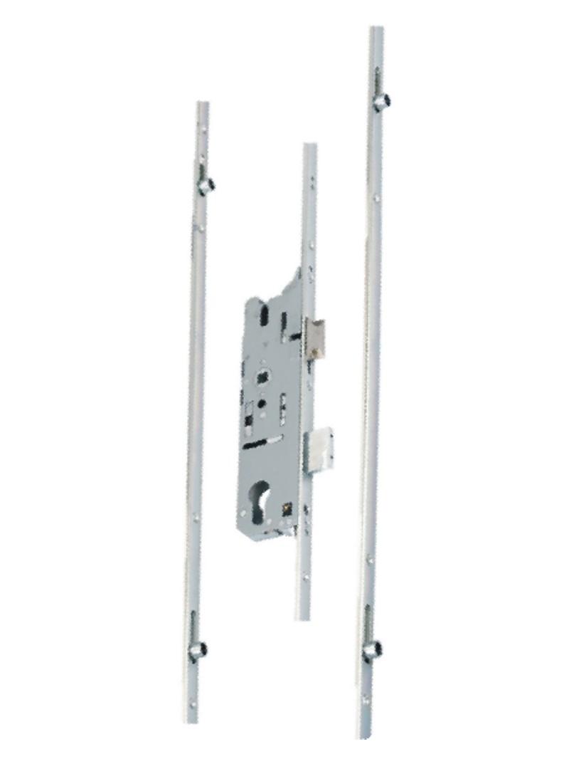 94017 WiRa System CombiEasy Spot Verbier 1x35W GU4 Chrom matt//Opal 12V Metall//Gl