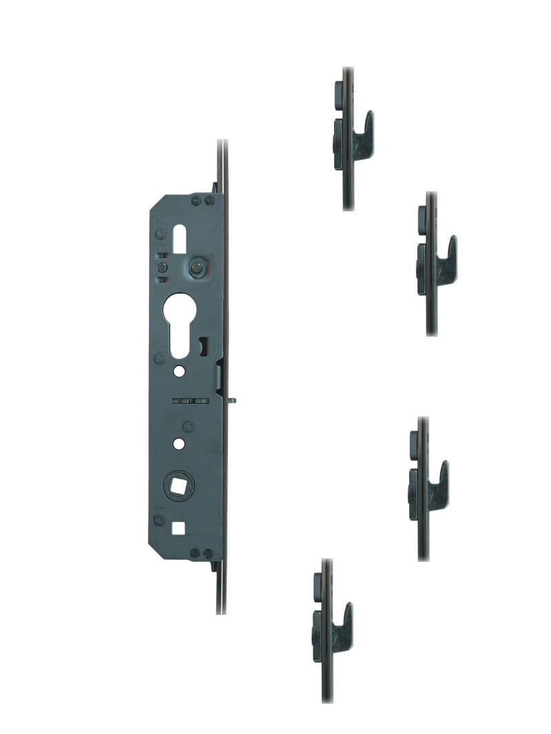 Fuhr Inline Sliding Patio Door Lock Replacement With 4 Hooks