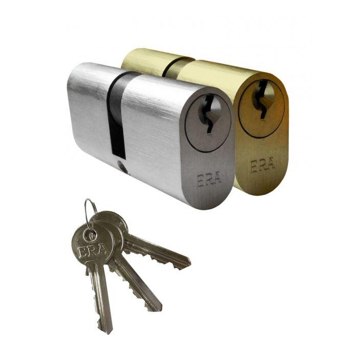 Era Saracen Oval Euro Profile Cylinder Timber Aluminium Door Lock