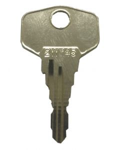 Hoppe 2W145 Window Handle Lock Keys KCW3