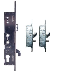 Lockmaster Milamaster 2 Hook 2 Pin Bolt 4 Cam Door Lock 35 Backset 2 Spindle