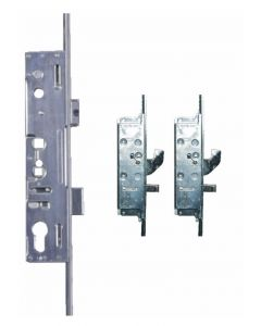 Lockmaster Milamaster 2 Hook 2 Pin Bolt 4 cam Upvc Door Lock 35mm Backset