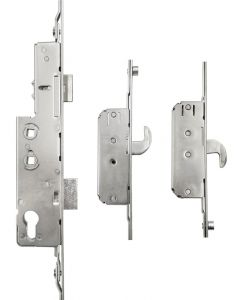 Avocet WMS Trivalent Upvc Door Lock 2 Hook 4 Roller Cam 35mm Backset