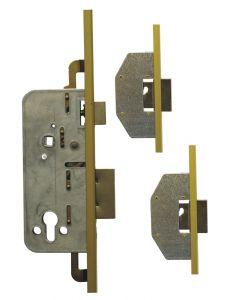 Ucem 3 Dead Bolt Door Lock 50mm Backset 20mm U Rail Face Plate 85PZ