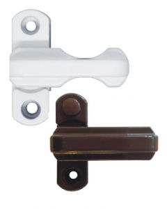 Gardinia Sash Jammer Upvc Security Bolt White Or Brown (Value Range)