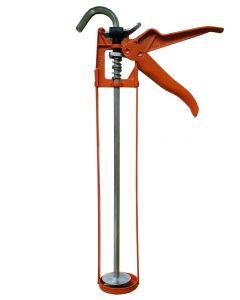 Gardinia Silicone Tube Application Skeleton Gun Heavy Duty Tool Orange Colour