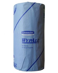 Gardinia Wypall Upvc Cleaning Tissue Wipes Blue Roll 2ply 37 Metres Long Strong