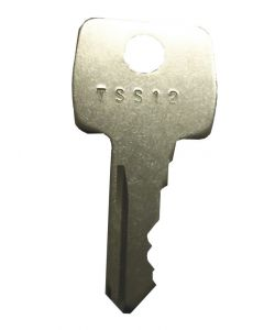 Strebor TSS12 Casement Open Out Window Handle Lock Key KWL41