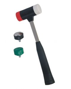 Gardinia Upvc Glazing Bead Mallet 4 In 1 Heads Heavy Duty Hammer