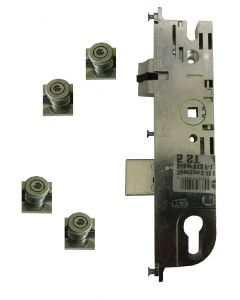 Maco Upvc Door Lock 4 Mushroom IS Cams 45mm Backset New CTS Split Spindle
