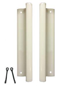 Universal Inline Patio Door Handles 242mm Screw Fix x5 Colours Blank