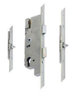 GU Ferco Tripact Door Lock 2 Tongue Hook 50mm Backset 70pz 20mm Plate
