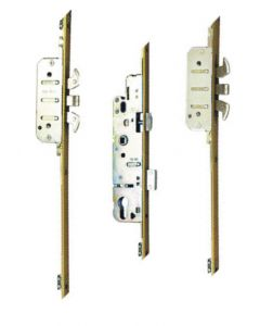 AGB Poseidon Bolts Upvc Door Lock 35mm Backset 4 Hooks 2 Pins