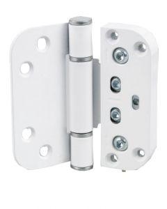Nico Loadpro 3D Upvc Composite Butt Type Door Hinge White Adjustable