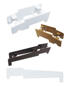 Upvc Cill End Cap Pair Sill Side Nose Cover Ext White Brown Or Tan