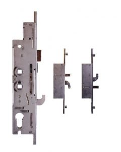 Fullex XL34R6357 3 Hook 2 Pin 4 Cam 35mm Backset 2 Spindle Door Lock