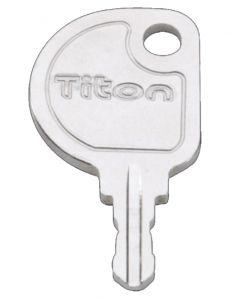 Titon Disc Key Suits Titon Select Window Handle