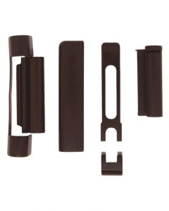 Gardinia Tilt Turn Upvc Window Brown Hinge Covers Suits Repair Kit