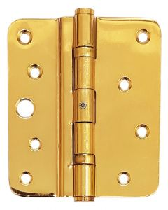 4 Inch 5 Knuckle Timber Upvc Composite Butt Type Door Hinge in Gold