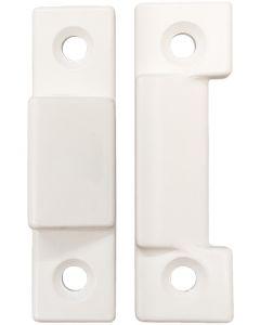 White Upvc Window Sash Cavity Closing Wedge Draught Sealing 5 X Pairs