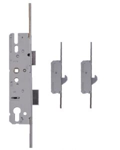 KFV Upvc Door Lock 2 Hooks 2 Rollers 35mm Backset AS4921