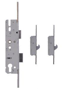 KFV Upvc Door Lock 2 Hooks 2 Rollers 35mm Backset AS4921