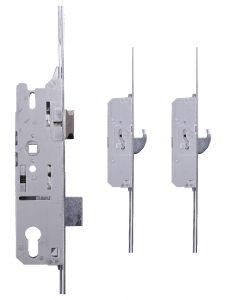 Fuhr Upvc Door Lock 2 Hook 2 Roller Cam 35mm Backset Type 3