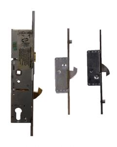 ERA Saracen Surelock 3 Hook 2 Roller Door Lock 35mm Backset 16mm Faceplate