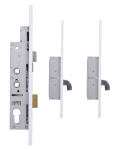 Fullex Door Lock 2 Hook 35mm Backset 44mm Wide Face Cover 2 Spindle