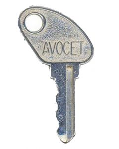 Avocet WMS Lightning Upvc Window Handle Key KWL19
