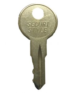 Securistyle Virage Upvc Window Handle Key KWL25