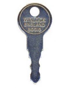 Winlock 80016 Upvc Window Handle Key KWL22