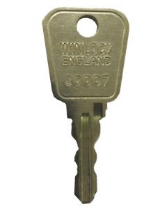 Stronghold, Mila, Trinity Window Handle Lock Key 80007