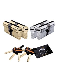 Avocet ABS Special Euro Cylinder Pair with 6x Keys