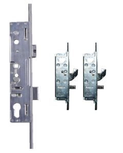 Lockmaster Milamaster 2 Hook 2 Pin Bolt 2 Roller Upvc Door Lock 35mm Backset
