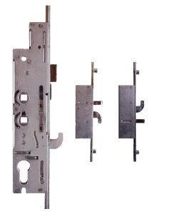 Fullex XL34R7474 3 Hook 2 Pin 4 Cam 35mm Backset 2 Spindle Door Lock