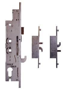 Fullex XL34R7474 3 Hook 2 Pin 4 Cam 35mm Backset 2 Spindle Door Lock
