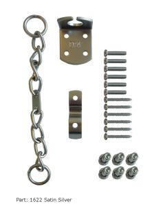 ERA Security Door Chain Upvc or Timber - Satin Silver