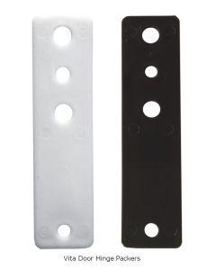 Door Hinge Packer Vita (Set of 3) - 1.5mm White