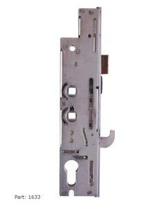 Fullex XL Door Lock Case Gear Box 35mm Backset  2 Spindle With Hook