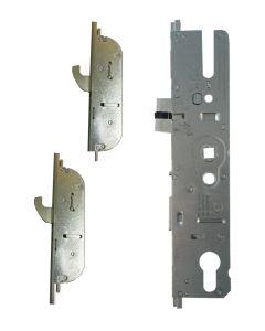 Maco Upvc Door Lock 2 Hooks 2 Mushroom Cams 35mm Backset CTS