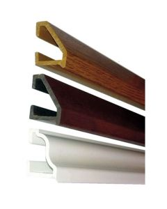 Upvc Door or Window Weather Rain Drip Bar Strip White Rosewood or Oak