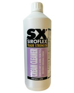 Gardinia Siroflex SX Upvc Frame Cream Cleaner Litre Bottle Upvc Restorer
