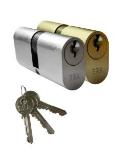 ERA Saracen Oval Euro Profile Cylinder Timber Aluminium Door Lock