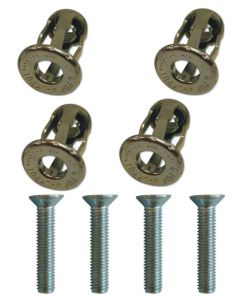 Jack Plug Upvc Cavity Bolt Fixing Sash Jammer Fix Lug Bag of 4