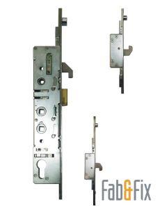 Fab & Fix 3 Hook 3 Roller Cam Upvc Door Lock 35mm Backset 92 62 pz