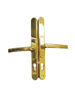 Flexi Adjustable Door Handle 96pz - 60pz 260mm Screw Fix Sprung Gold